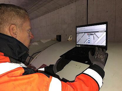 Monitoring of tunnel ventilation with DMT SAFEGUARD