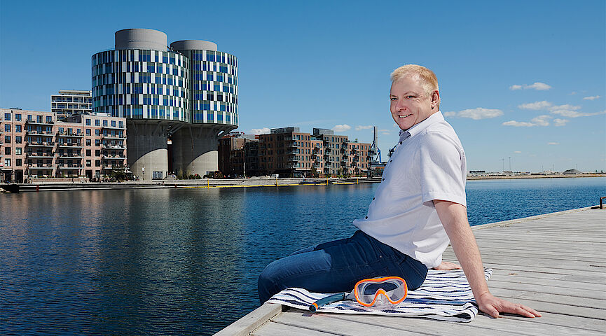 Ole Larsen, Director of Climate Adaptation Living Lab (CALL) Copenhagen
